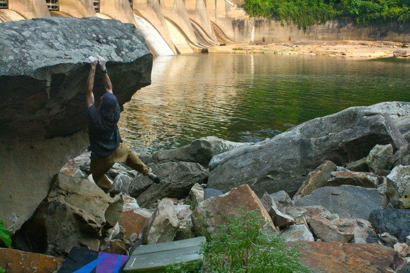 Rock Climbing Photo: wingspan4