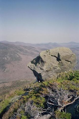 Rock Climbing Photo: You can see the Eye in this photo...