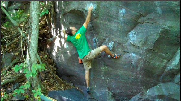 Rock Climbing Photo: Fun move
