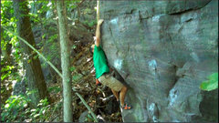 Rock Climbing Photo: Hitting the break, now just the finish to the Keym...