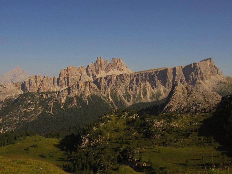 Rock Climbing Photo: View from the Cinque Torri