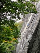 Rock Climbing Photo: Frost dispatching run outs with ease. Check out Ce...