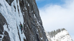 Rock Climbing Photo: This is around the middle of P2 in PHAT conditions...