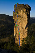 Rock Climbing Photo: 1st pitch: 5.10 fingers 2nd pitch: 10+ face with b...