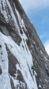 Rock Climbing Photo: A beautiful climb in incredible fat WI5/M3ish cond...