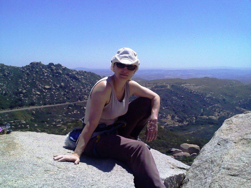 Rock Climbing Photo: Mt Woodson