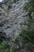 Rock Climbing Photo: Prom Date line