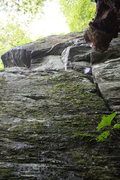 Rock Climbing Photo: up.