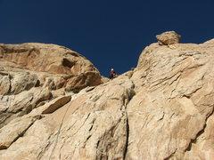 Rock Climbing Photo: On P2