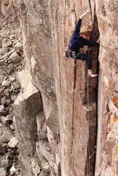 Rock Climbing Photo: FA circa 1988 Peter L Scott