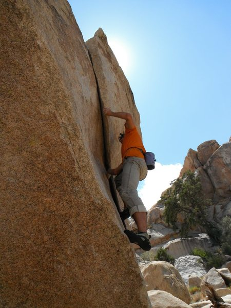 Rock Climbing Photo: Richard Shore on False Up 20