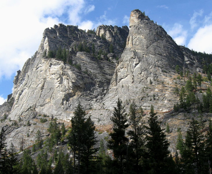 Blodgett Canyon, MT