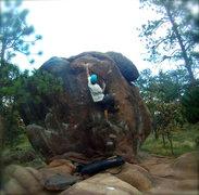 Rock Climbing Photo: V0 Arete.