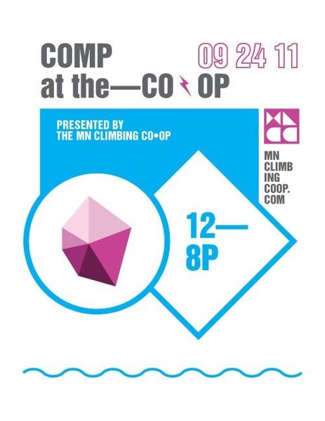 Comp at the Co-op poster