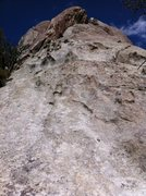 Rock Climbing Photo: Shows possible 70m rappel from top of Little Time ...