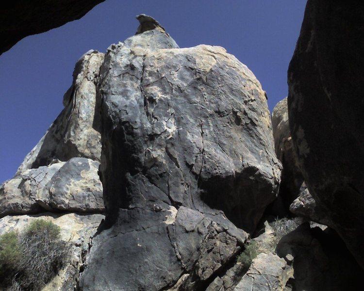 Rock Climbing Photo: The Black Boulder