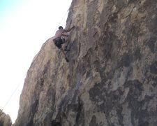 Rock Climbing Photo: Nice big undercling