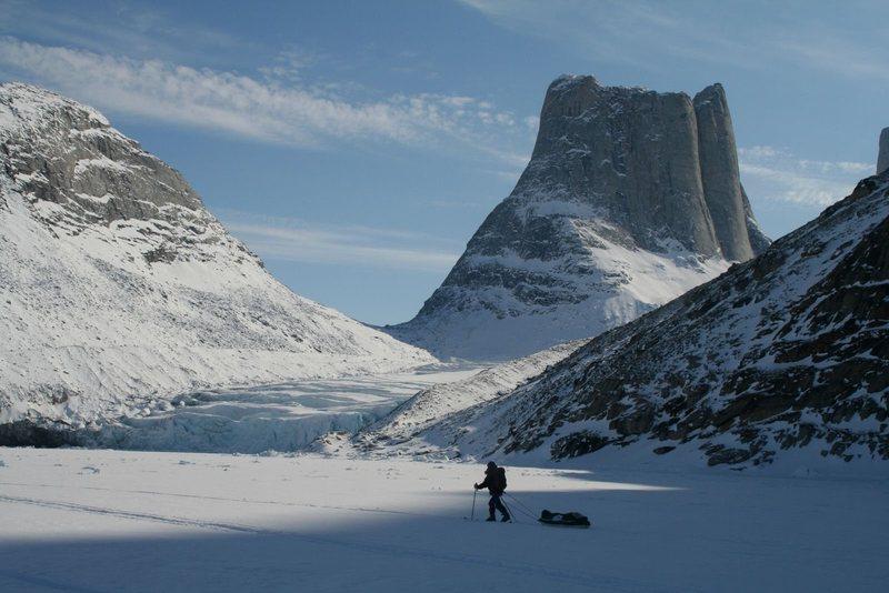 Fjord on NE Baffin Island, Nunavut, Canada