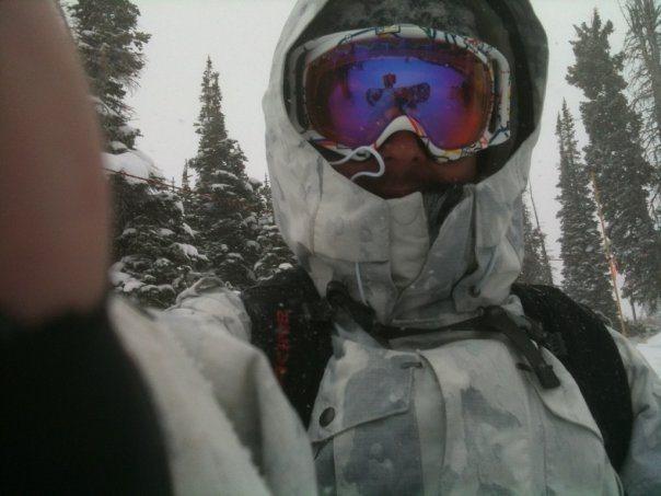 Rock Climbing Photo: Snowboarding Snowbird