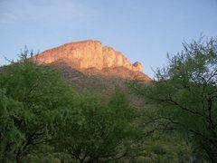 Rock Climbing Photo: Unclimbed Walls in Potrero Grande