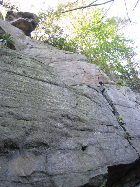 Rock Climbing Photo: The left wall at Gorgeous Rocks. The Space Between...