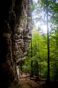 Rock Climbing Photo: creep show