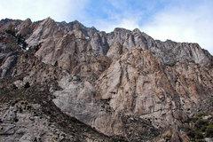 Rock Climbing Photo: The Pink Band, Grey Towers behind