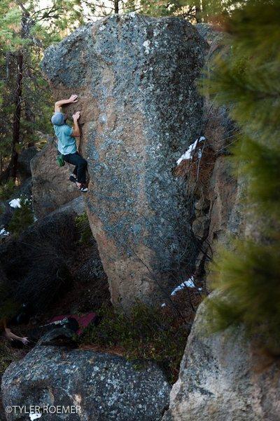 Bouldering in Oregon