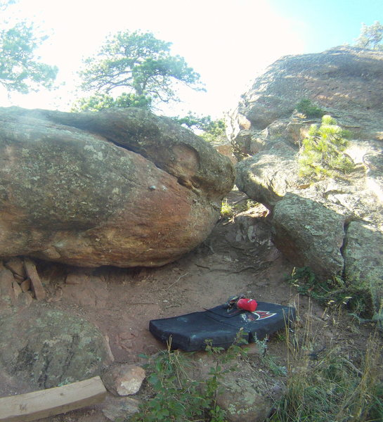 Rock Climbing Photo: East Overhang Right.
