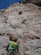 Rock Climbing Photo: 'Orange Crush' 5.10b/c
