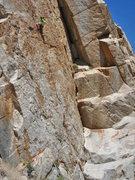 Rock Climbing Photo: Jordan Winters on 'Orange Crush' 5.10b/c