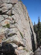 Rock Climbing Photo: bouldering wall south of lost lake, rmnp.