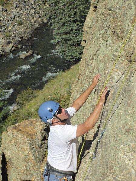 Dan in Clear Creek canyon.
