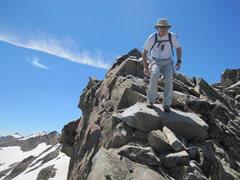 Rock Climbing Photo: Hart ridge between Lead and Cirrus, very long and ...