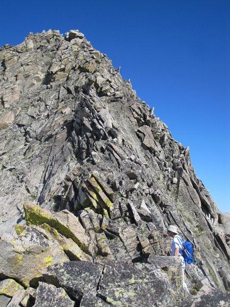 East ridge of Lead mnt, RMNP.