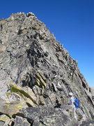 Rock Climbing Photo: East ridge of Lead mnt, RMNP.