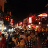 Every night is a busy night on the streets on YangShuo