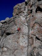 Rock Climbing Photo: Reach high...