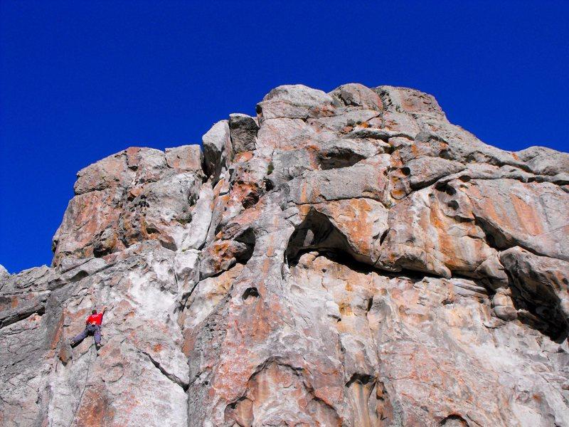 i love this climb