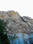 Rock Climbing Photo: had to stop by and climb this one after hearing no...