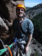 Rock Climbing Photo: HALF WAY UP THE GRAND GIRAFFE