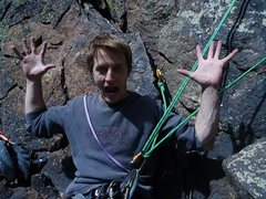 Rock Climbing Photo: Matt Pagano on Grand Giraffe