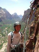 Rock Climbing Photo: zion