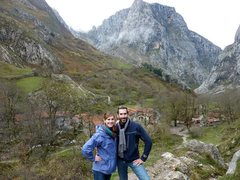Rock Climbing Photo: Village of Bulnes
