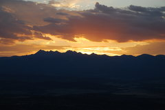 Rock Climbing Photo: La Platas sunrise from Mesa Verde, 9-2009.