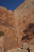Rock Climbing Photo: Sink 'em.