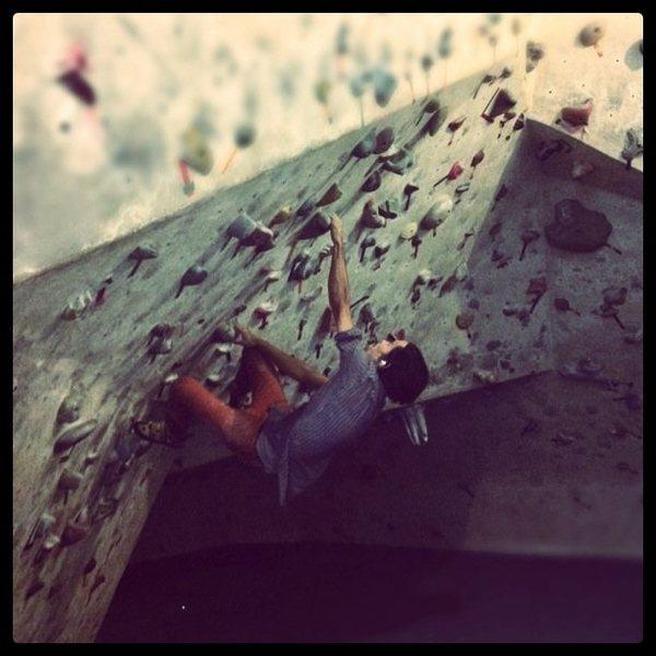 Rock Climbing Photo: Austin Rock Gym North.
