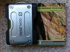 Rock Climbing Photo: Sherpa 120 and Eldo Book.