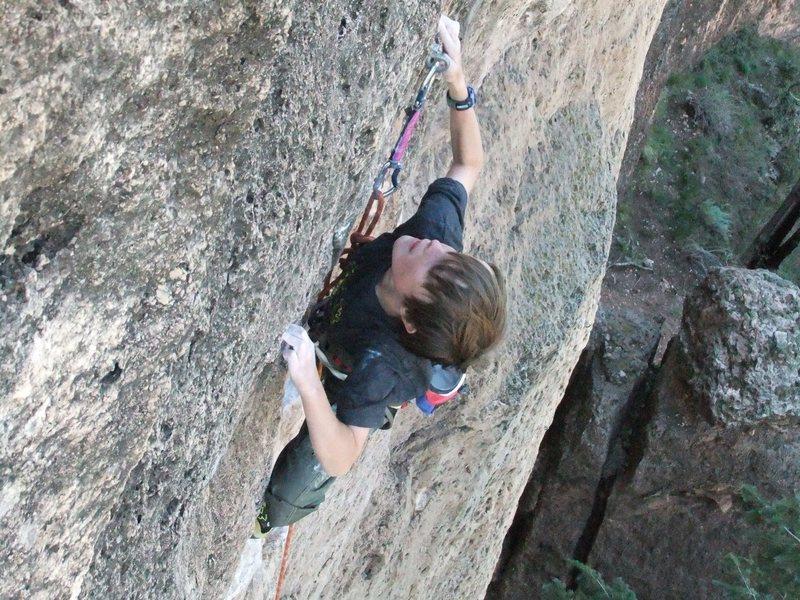 Rock Climbing Photo: Tristin  Great Black North