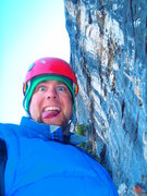 Rock Climbing Photo: Gettin psyched for the next ptch.